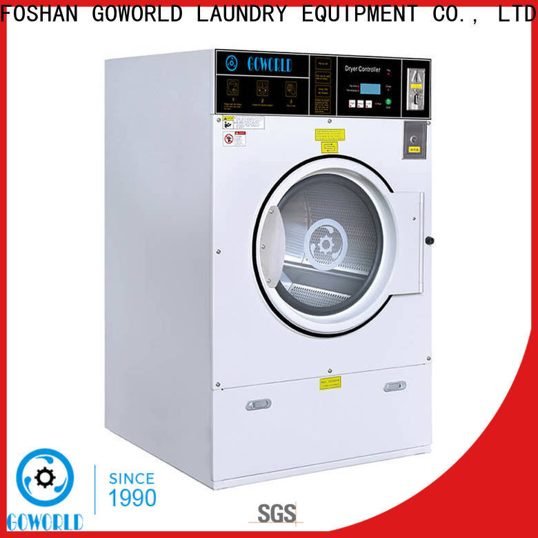 GOWORLD center self-service laundry machine natural gas heating for service-service center