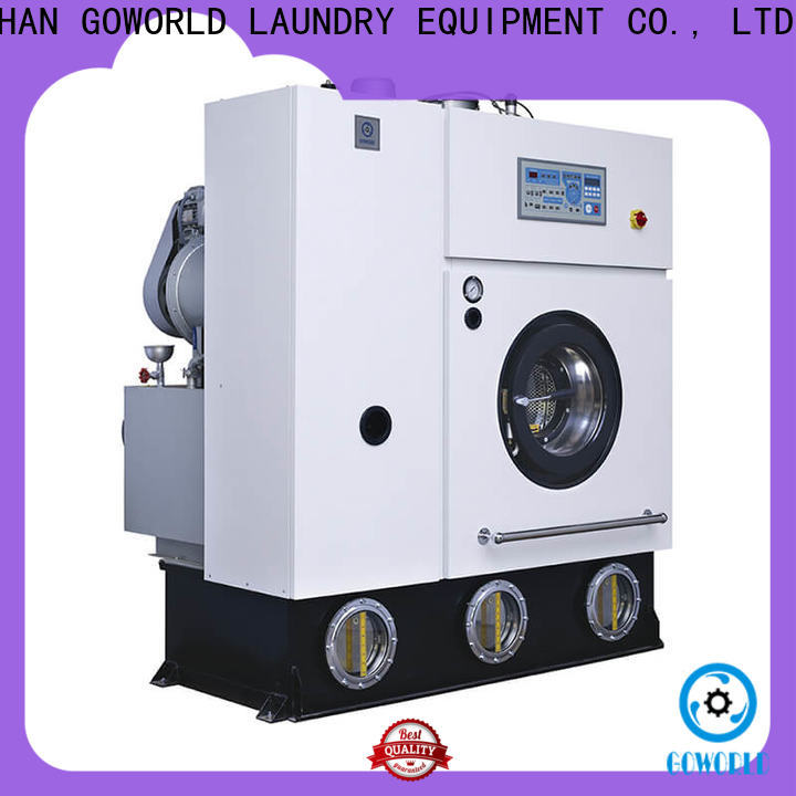 GOWORLD safe dry cleaning washing machine energy saving for hotel
