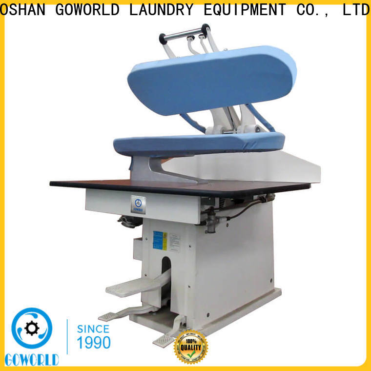 GOWORLD laundry industrial iron press machine for hospital