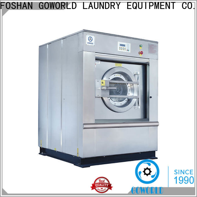 GOWORLD anti-rust barrier washer extractor simple installation for hospital