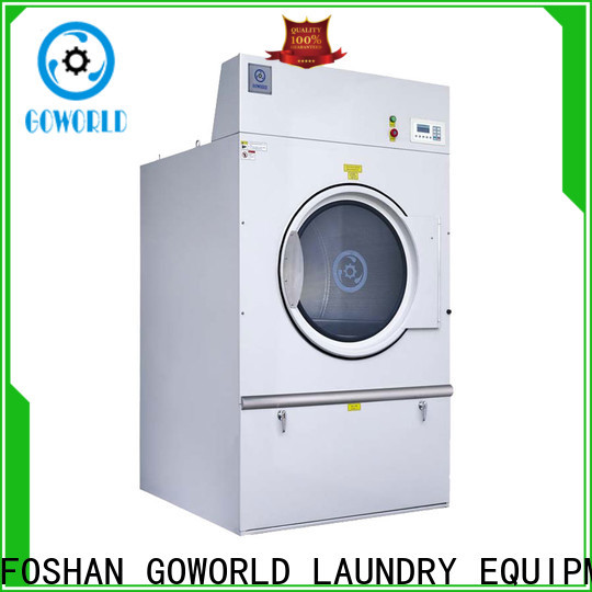 GOWORLD towels tumble dryer machine simple installation for inns