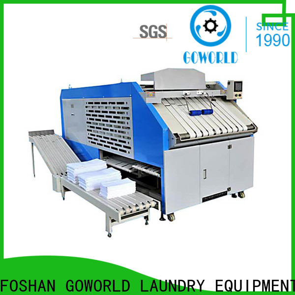 GOWORLD intelligent towel folding machine high speed for medical engineering