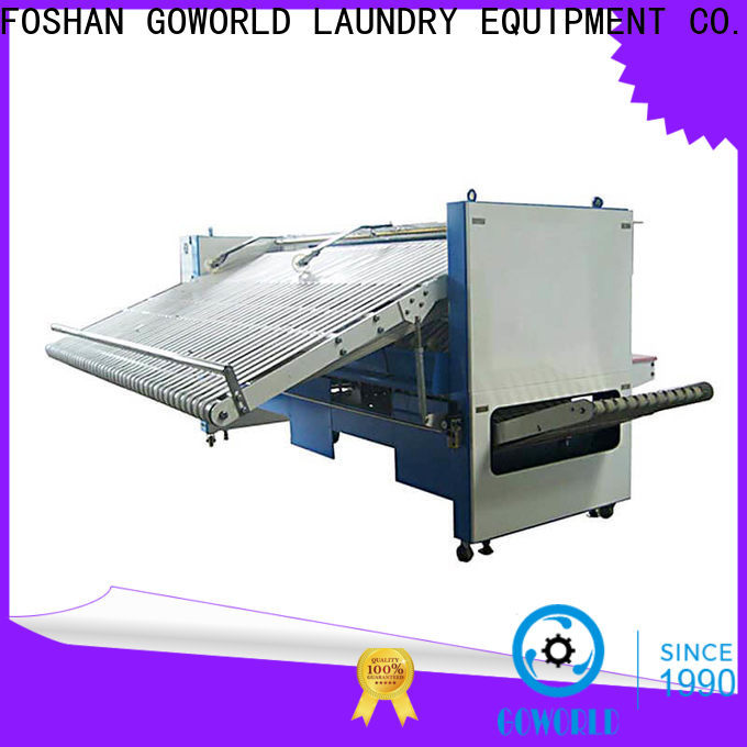 GOWORLD machine towel folding machine factory price for medical engineering