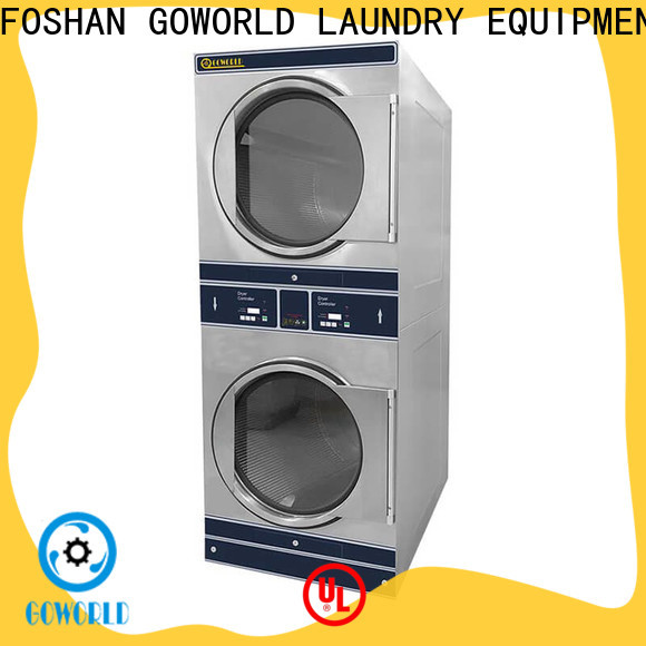 GOWORLD school stacking washer dryer supplier for fire brigade