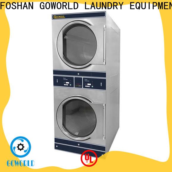GOWORLD school stacking washer dryer supplier for fire brigade