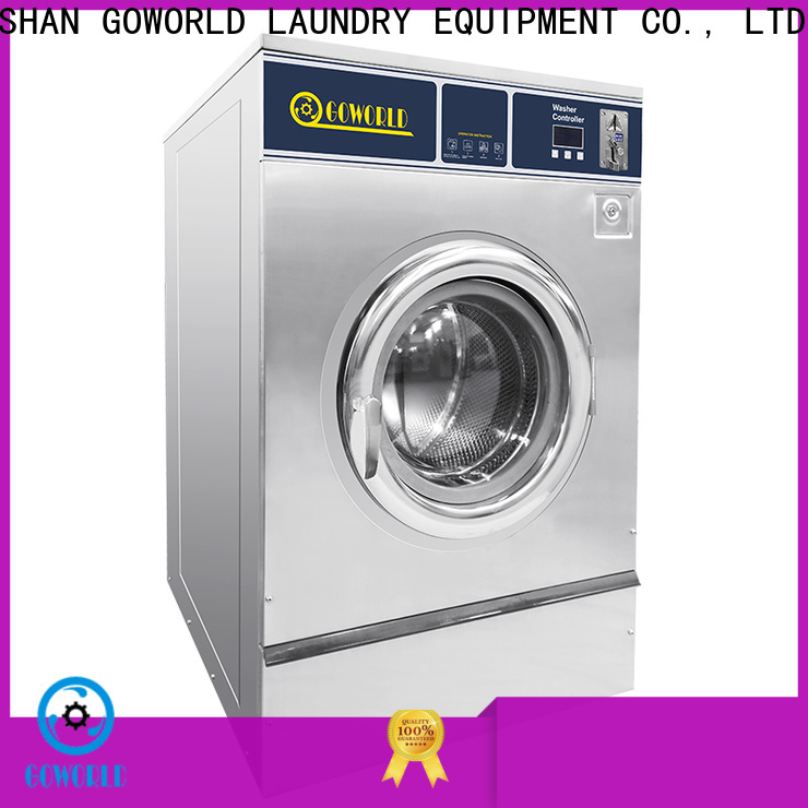 GOWORLD double self laundry machine for commercial laundromat
