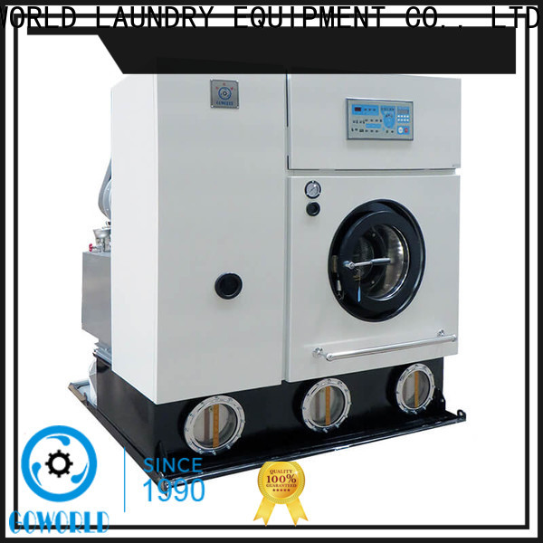 GOWORLD reliable dry cleaning machine Easy operated for laundry shop