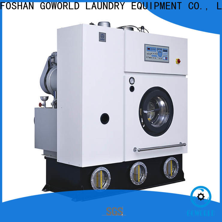 GOWORLD safe dry cleaning equipment for textile industries