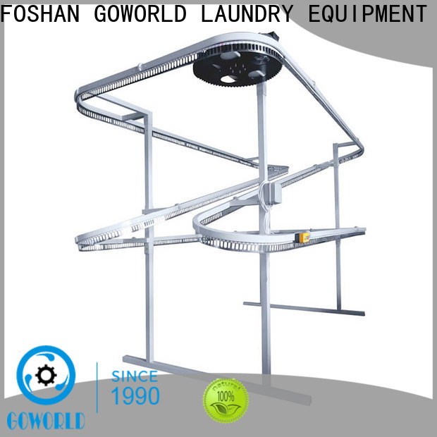 GOWORLD stainless steel laundry conveyor manufacturer for hospital