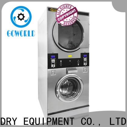 convenient self service laundry equipment school LPG gas heating for laundry shop