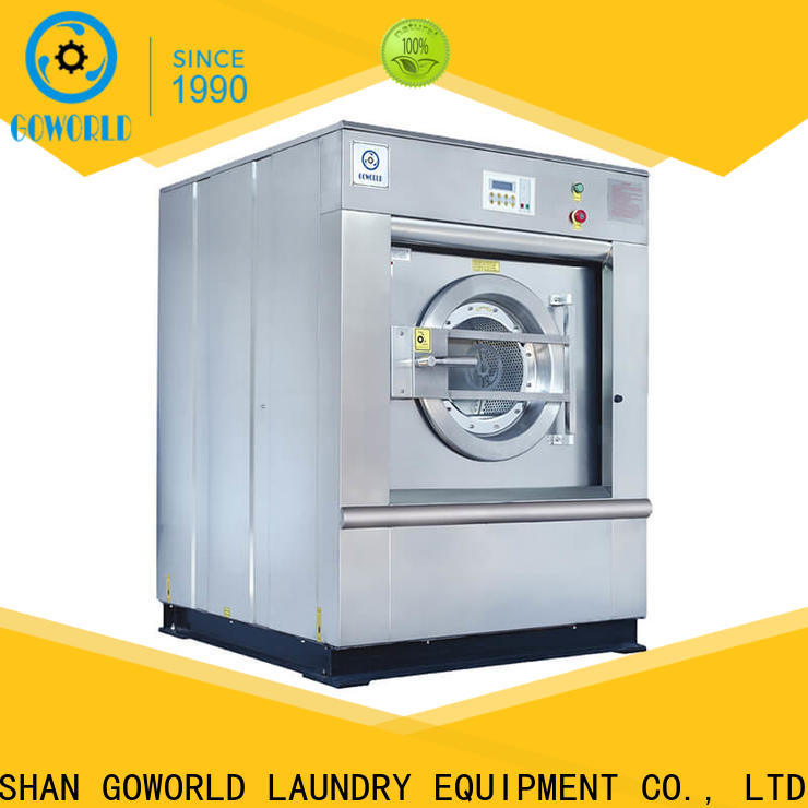 anti-rust commercial washer extractor industrial simple installation for hospital