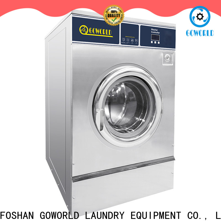 GOWORLD stable running commercial washer extractor manufacturer for inns