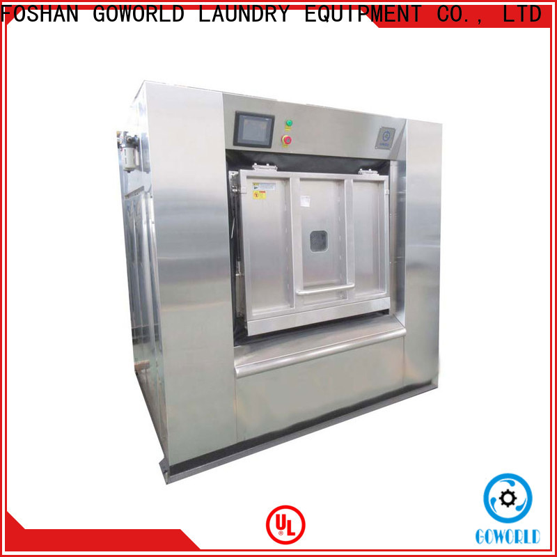 GOWORLD hard barrier washer extractor easy use for hotel