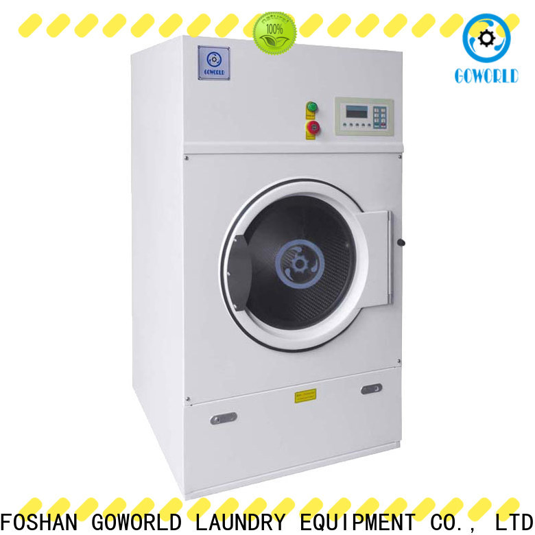GOWORLD steam tumble dryer machine for high grade clothes for laundry plants