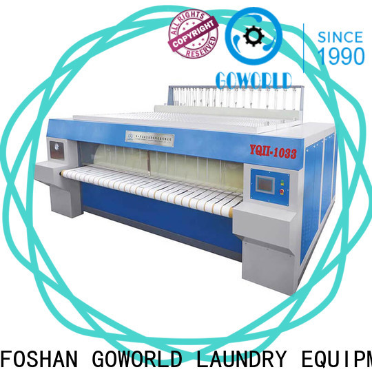 GOWORLD safe flatwork ironer for sale for laundry shop