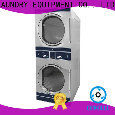 GOWORLD combo stacking washer dryer LPG gas heating for hotel