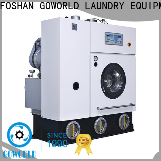 GOWORLD environment dry cleaning machine environment friendly for textile industries