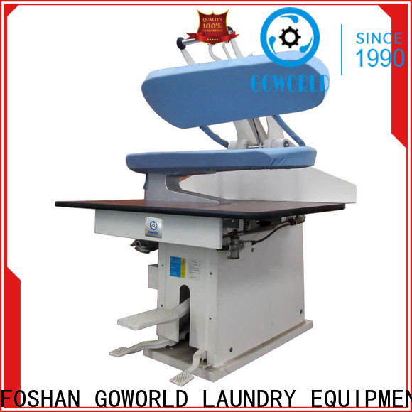 GOWORLD multifunction industrial iron press machine Manual control for shop