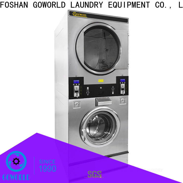 stainless steel self-service laundry machine combo directly price for service-service center