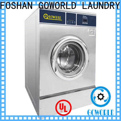 GOWORLD solution barrier washer extractor simple installation for inns