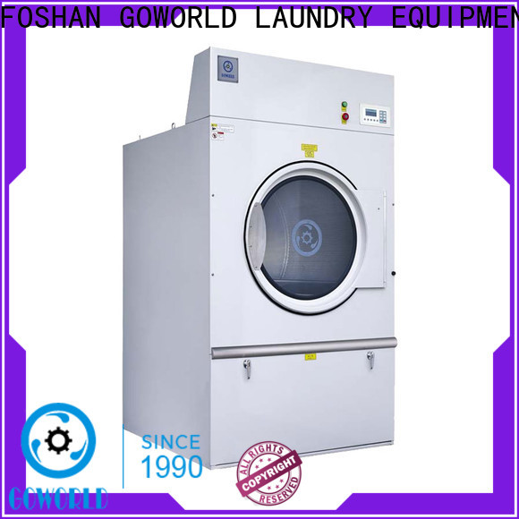 GOWORLD automatic laundry dryer machine easy use for laundry plants