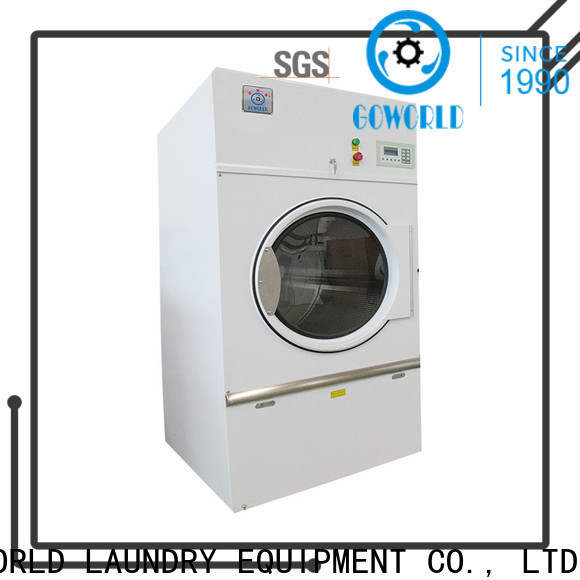 GOWORLD tumble tumble dryer machine factory price for laundry plants