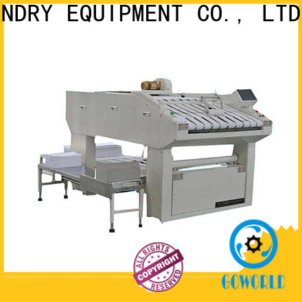 safe towel folder industries high speed for laundry factory