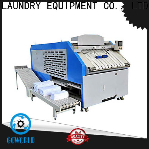 GOWORLD multifunction folding machine efficiency for hotel