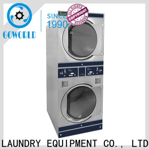 convenient self laundry machine clothes LPG gas heating for commercial laundromat