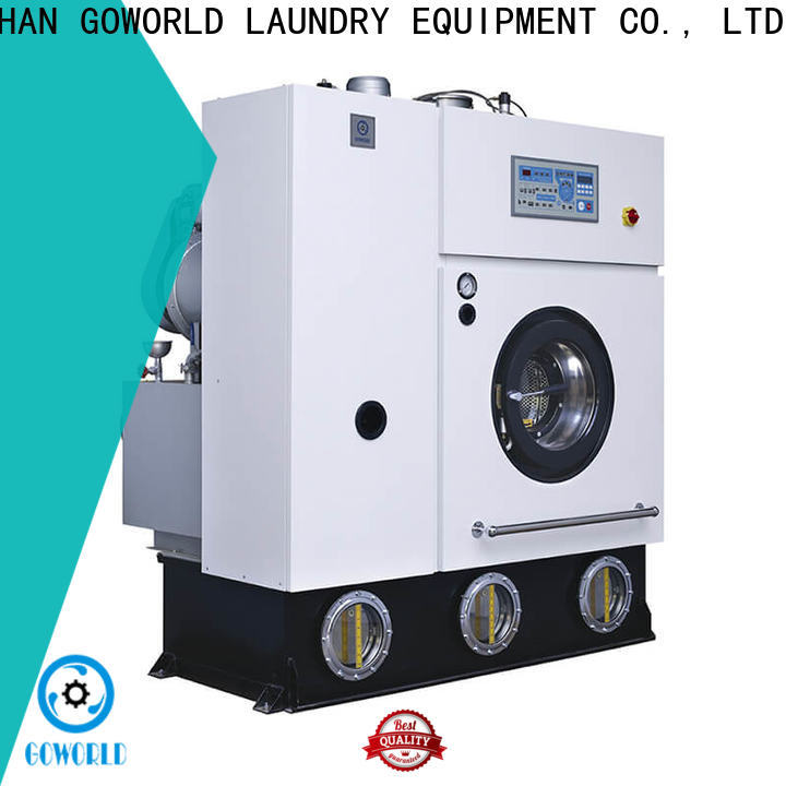 reliable dry cleaning machine laundry Easy operated for laundry shop
