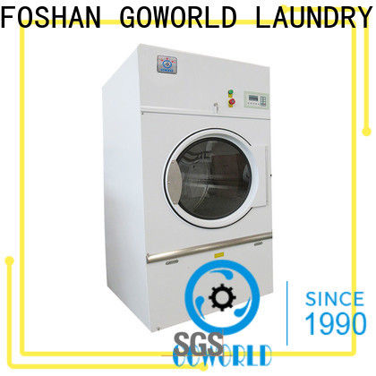 GOWORLD lpg industrial tumble dryer for high grade clothes for hotel