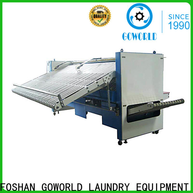 multifunction folding machine bedsheets high speed for textile industries