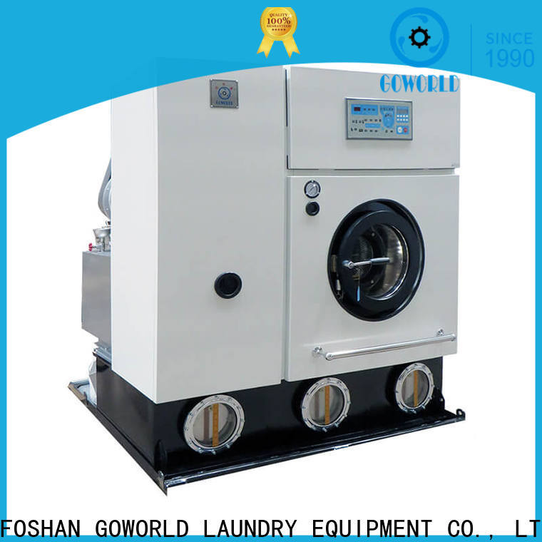 GOWORLD automatic dry cleaning equipment China for laundry shop