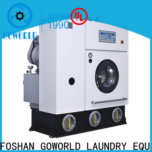 dry cleaning equipment cleaner environment friendly for hotel