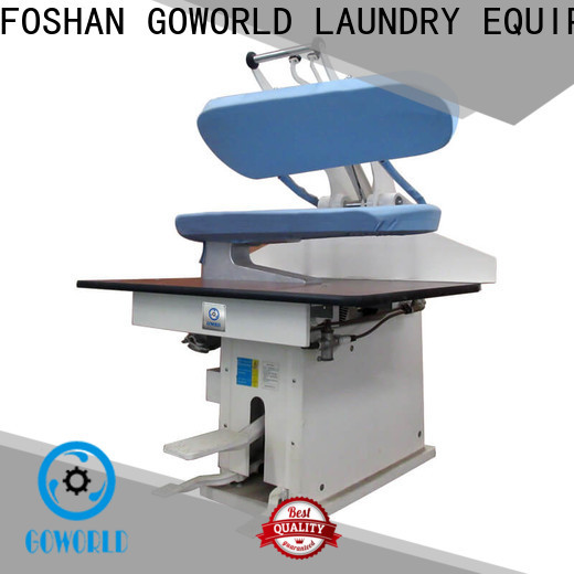 GOWORLD series laundry press machine Steam heating for dry cleaning shops