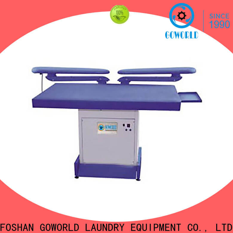 GOWORLD garment industrial iron press machine easy use for shop