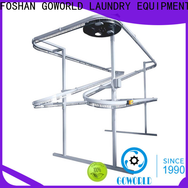GOWORLD stainless steel commercial laundry facilities simple operate for shop