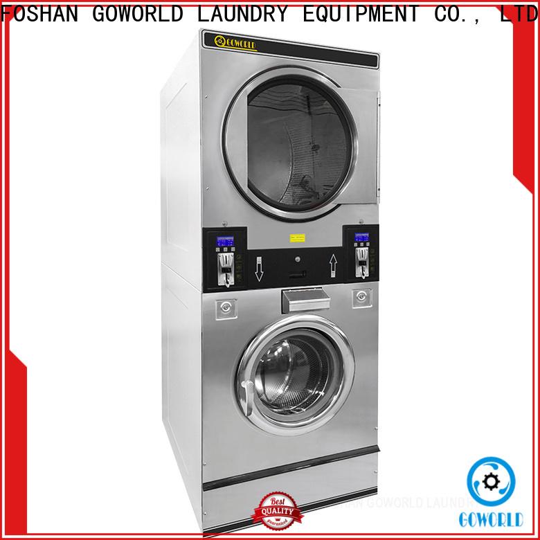 GOWORLD 8kg12kg self service washing machine for hotel
