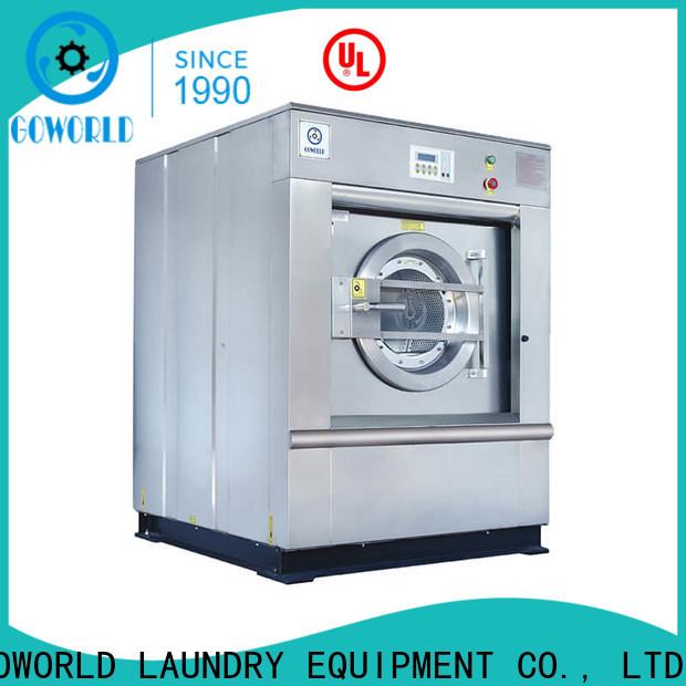 GOWORLD 15kg150kg commercial washer extractor manufacturer for inns