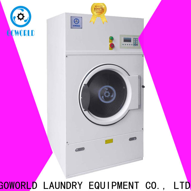 GOWORLD laundry tumble dryer machine for drying laundry cloth for laundry plants