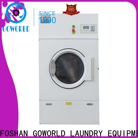 GOWORLD high quality industrial tumble dryer simple installation for inns