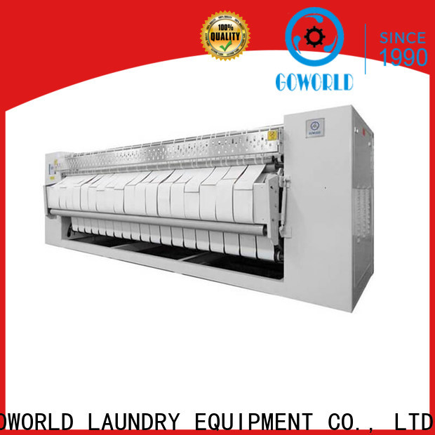 GOWORLD laundry flat work ironer machine for sale for textile industries
