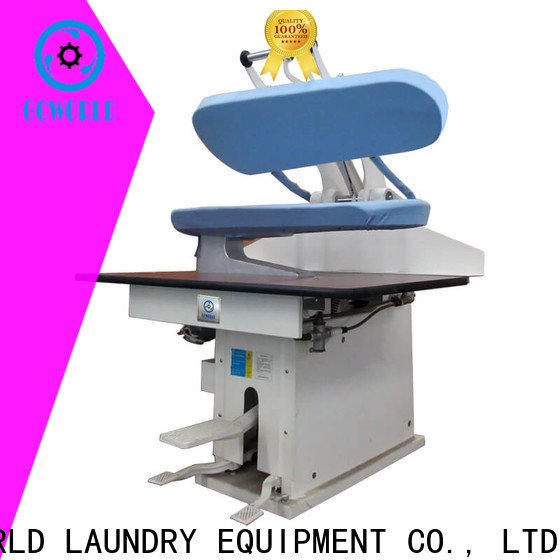 GOWORLD multifunction laundry press machine easy use for hospital