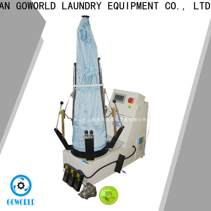 multifunction industrial iron press machine press Manual control for laundry