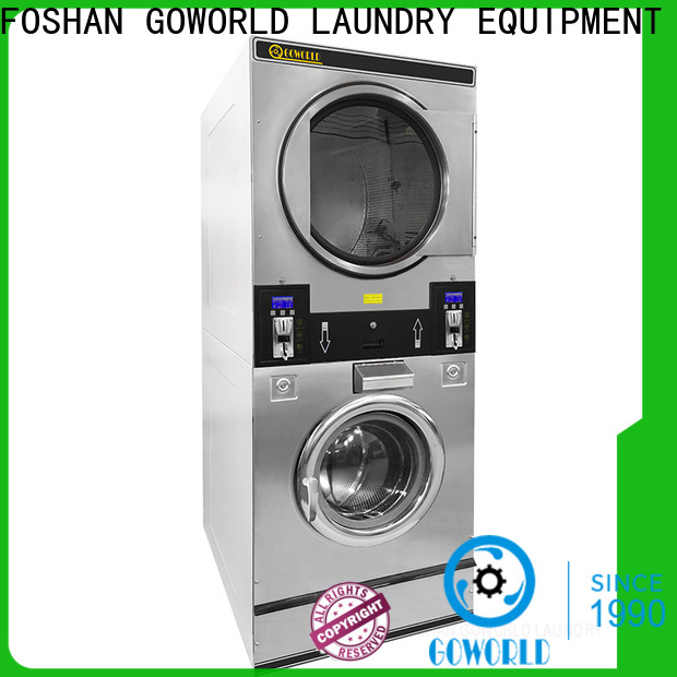 GOWORLD convenient self-service laundry machine steam heating for hotel