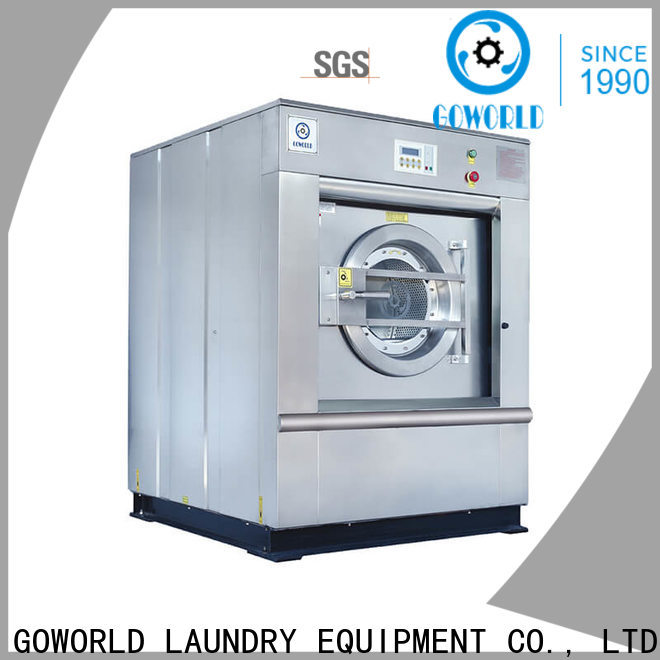 GOWORLD automatic industrial washer extractor simple installation for hospital