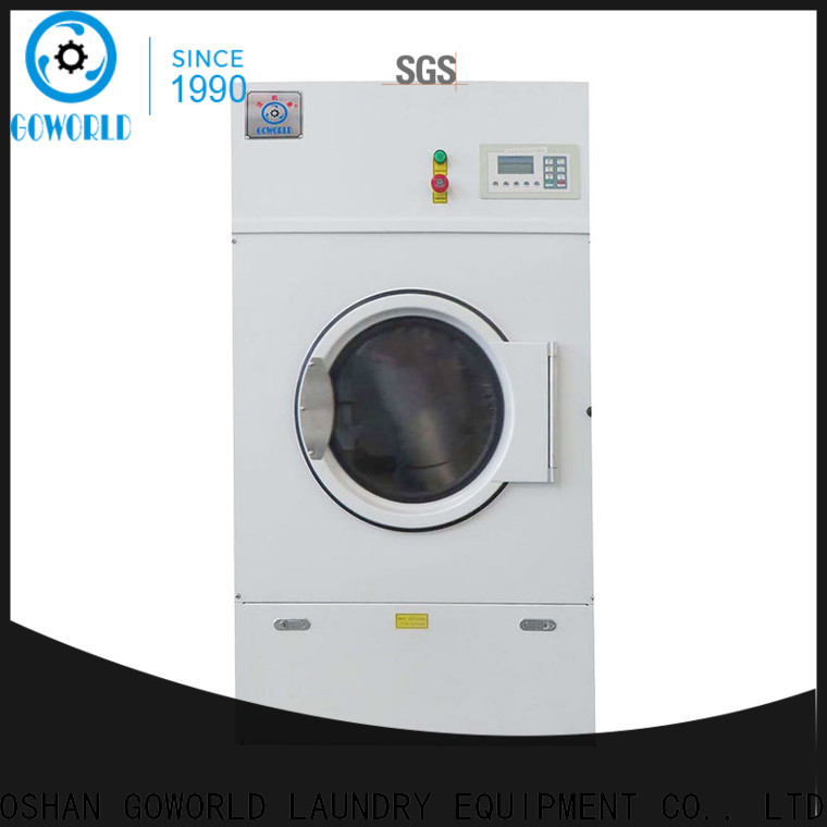 GOWORLD commercial industrial tumble dryer factory price for inns