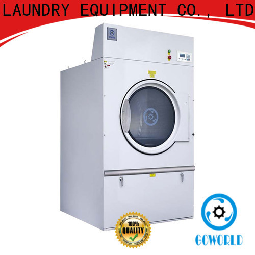 GOWORLD gas industrial tumble dryer for drying laundry cloth for laundry plants