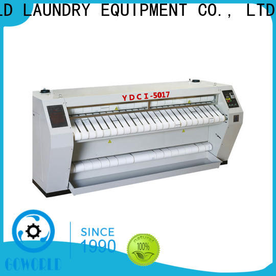 GOWORLD flat roller ironing machine factory price for hotel