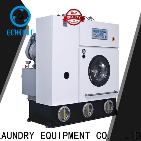 reliable dry cleaning machine textile Easy operated for railway company